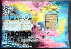Mail Art - Version Scrap - DIY by Lisou