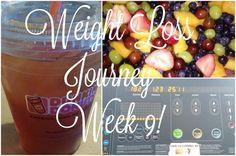 Weight loss journey week 9!!! Still in the game.. - WEMAKE7 #weightlossbeforeandafter