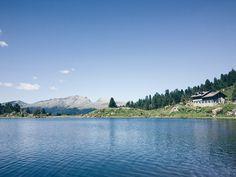 Arrivammo infine ai laghi di Colbricon, vicino al Passo Rolle - Processed with…