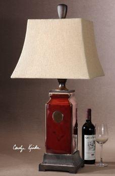 Uttermost Reggie Red Table Lamp259.99