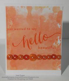 OneCraftyMama Handmade Greetings, Greeting Cards Handmade, I Card, Create, Beautiful, Decor, Art, Decoration, Hand Made Greeting Cards