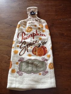 A personal favorite from my Etsy shop https://www.etsy.com/listing/469711804/pumpkin-spice-double-hanging-kitchen
