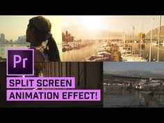 Learn how to make FARGO style split screens or side by side videos in Adobe premiere Pro. ---------------------------- ▶Try, buy or upgrade Premiere Pro CC: . Photoshop Course, Effects Photoshop, After Effects, Video Effects, Video Editing, Photo Editing, Learn Animation, Adobe Premiere Pro, 3d Tutorial