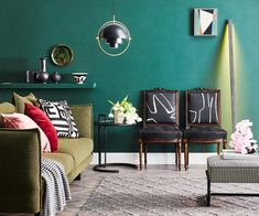 We challenged five super stylists to flex their muscles with a sofa styling challenge! Here, Megan Morton shares her top tips. Afternoon Delight, Indian Rugs, Sofa Styling, Antique Show, Rug Store, Gallery Wall, Couch, Living Room, Antiques
