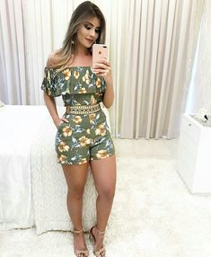 Swans Style is the top online fashion store for women. Shop sexy club dresses, jeans, shoes, bodysuits, skirts and more. Casual Wear, Casual Outfits, Cute Outfits, Fashion Outfits, Womens Fashion, Casual Dresses, Chor, Summer Wear, Casual Summer