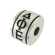 Alpha Chi Omega Barrel Sorority Bead Charm Fits Most Pandora Style Bracelets Including Chamilia