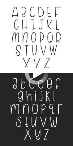 Cursive Alphabet, Hand Lettering Alphabet, Doodle Lettering, Creative Lettering, Lettering Styles, Brush Lettering, Calligraphy Fonts Alphabet, Pretty Fonts Alphabet, Fake Calligraphy