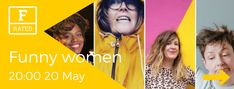 This rip-roaring evening of award-winning comedy features irreverent acts from the FUNNY WOMEN AWARDS and beyond.  Be prepared to laugh your purple, green and white stockings off!  With Thanyia Moore, Ada Campe, Amy Mason, Sal Drummond  and Louise Leigh