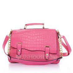 Handbags - $16.99 - Fashional PU With Metal Shoulder Bags/Top Handle Bags (012031799) http://jjshouse.com/Fashional-Pu-With-Metal-Shoulder-Bags-Top-Handle-Bags-012031799-g31799?pos=your_recent_history_6