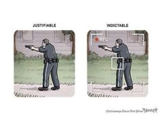 This comic is, horrifically, spot on… @deray: Justifiable. Indictable. #WalterScott