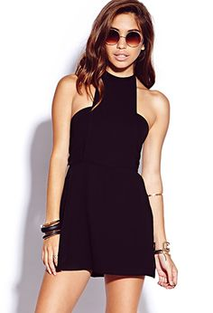 Edgy Chiffon Romper | FOREVER 21 - 2000111406