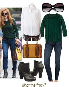 What the Frock? - Affordable Fashion Tips and Trends: Celebrity Look for Less: Isla Fisher Style