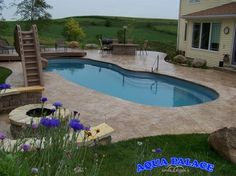 Fiberglass Pool Designs - traditional - pool - other metro - Aqua Palace