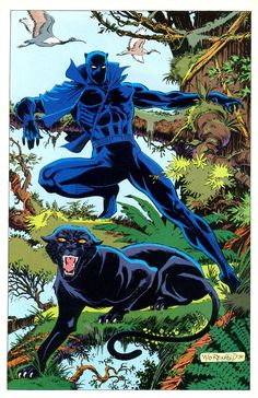 Black Panther by Bill Reinhold