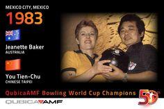 #50BWC history #Bowling champions