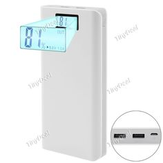 18000mAh Dual USB Power Bank External Fast Charger Battery w/ LCD Display for Smartphone Tablet EBTPH-515734