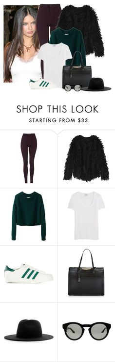 2016/820 by dimceandovski on Polyvore featuring 3.1 Phillip Lim, Frame Denim, DKNY, Topshop, adidas Originals, New Look, Givenchy and Études