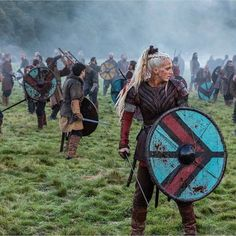 Thanks to characters such as Lagertha, 'Vikings' has moved away from its male-centric starting point. When History Channel's Vikings burst onto TV screens in the show centered . Lagertha, Viking Power, Viking Life, Vikings Ragnar, Vikings Tv Series, Vikings Tv Show, Travis Fimmel, Viking People, Viking Battle