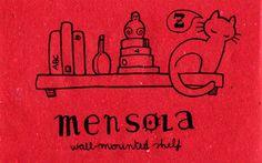 Learning Italian Language ~ mensola