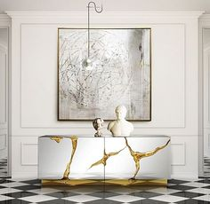 sideboard designs Limited Edition Sideboard Designs by Boca do Lobo sideboard designs boca do lobo interior design furniture furniture design home decor dining room living room living room ideas sideboard case goods 7 Interior Design Magazine, Luxury Interior Design, Home Interior, Interior Design Inspiration, Magazine Design, Interior Livingroom, Ideas Magazine, Lobby Interior, Modern Buffet