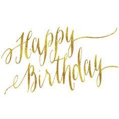Картинки по запросу happy birthday gold wishes
