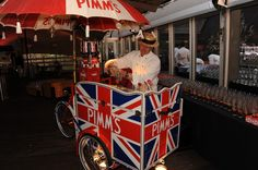 Pimm's Tricycle | Pashley | Ideas Box | London