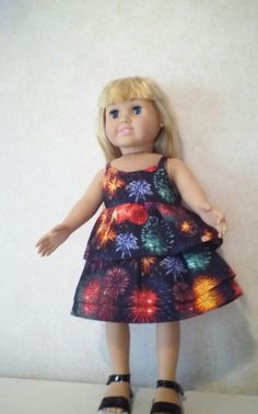 American Girl Doll Top & Skirt by CarolinaDollClothes on Etsy, $8.00