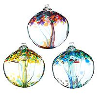 RECYCLED GLASS TREE GLOBES - INSPIRATIONS UncommonGoods