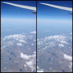 Von Himmel Hoch 大空高くより From sky high  飛行機の窓にiPhoneを固定して連写、巨人の視野角で見ています。 寄り目で見たら雲がぽっかり浮かんでいるのが分かります。 見えましたか? I put iPhone on the window of the airplane and shoot in short interval. That's makes a gigantic perspective automatically.  You can see the clouds floating over the earth in cross eyed view.  Can you see the stereo view ? #マジカルアイ #寄り目 #3D #ステレオグラム #成層圏 #空 #雲 #地表 #地球 #stereogram #crosseyed #sky #cloud #earth #stratosphere #wing #airplane #Eurasia