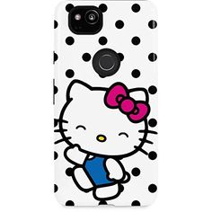 27040817a Hello Kitty Google Pixel 2 Case Hello Kitty Waving Sanrio Hello Kitty and  Skinit Pro Case * More info could be found at the image url.