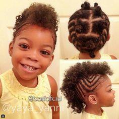Natural hair kid
