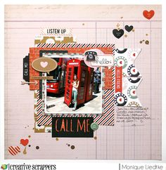 """creating {non}sense: Reveal Day Creative Scrappers sketch #275!! Pink Paislee's """"Switchboard"""" collection"""