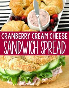 Cinnamon Walnut Cranberry Cream Cheese Spread Cream Cheese Sandwiches, Cream Cheese Dips, Cream Cheese Spreads, Cream Cheese Recipes, Cranberry Cream Cheese Dip, Seared Salmon Recipes, Pan Fried Salmon, Pan Seared Salmon, Tapas