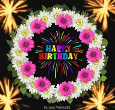 Happy Birthday gif - Happy Birthday Greeting Cards Birthday Greetings Images, Happy Birthday Gif Images, Happy Birthday Greetings Friends, Happy Birthday Wishes Photos, Happy Birthday Wishes Cards, Birthday Greeting Cards, Happy Birthday Ballons, Happy Birthday Animals, Happy Birthday Hearts