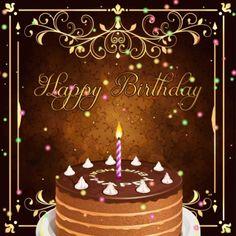 Top Happy Birthday Wishes Gif Images - Birthday Gif Birthday Gif For Her, Birthday Cake Gif, Happy Birthday Ecard, Happy Birthday Video, Happy Birthday Celebration, Happy Birthday Wishes Cards, Happy Birthday Flower, Birthday Book, Friend Birthday