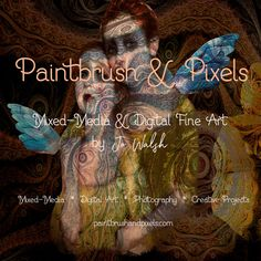 Mixed media Limited Edition Fine Art by PaintbrushandPixels
