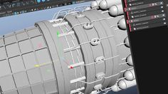 How to use MASH to build a jet engine in Maya. A great tutorial that is jam-packed with tips and tricks for using Maya to model a detailed model.