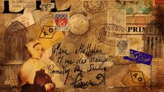 Marie Mathelin mail art by Lord Marmalade Mail Art Envelopes, Postcard Paper, Fun Mail, Art Journal Pages, Art Journaling, Journal Ideas, Sound Art, Going Postal, Postage Stamp Art