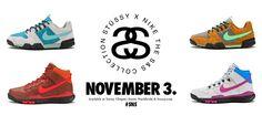 Stussy x Nike Available Online November 3 2012