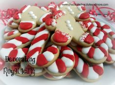 Decorating Cookies with Royal Icing-So easy to do!