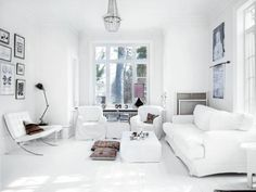 Scandinavian interiors with ethnic details
