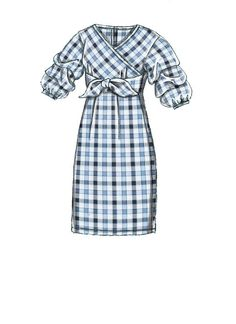 Vogue V9293 MISSES' DRESS #sewingpattern #vogueeasyoptions