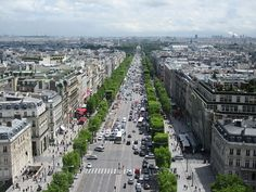 The Avenue des Champs-Élysées is a street in Paris, France. With its cinemas, cafés, luxury specialty shops and clipped horse-chestnut trees, the Champs-Élysées is arguably the most famous street - and one of the most expensive strips of real estate - in the world.
