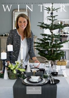 This Wednesday our new Autumn/Winter 2015 catalogue will be online. Today we have a special surprise for all of you! Here is a sneak preview – do you recognize the person on the front page? It is Greengate's co-founder and Head of Design, Mona Bjørn Christiansen – who can now add cover model to her CV. We can't wait to show you what's inside and hope you will love it!
