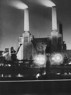Size: 24x18in Coal Ships Unload at Battersea Power Station, July 1950Choose from our catalog of over 500,000 posters! Battersea Power Station, Art Deco Stil, Great Power, Digital Technology, Willis Tower, Historical Photos, Cool Photos, Photographic Prints, In This Moment