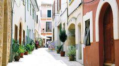 Old Town, Alcudia, Majorca