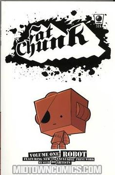 Fat Chunk is a collaborative comic featuring a collection of different artists, each contributing work based on a theme. We find artists from all over the world, based in any discipline, from well-known comic names to fresh new webcomic talent, from influential street artists to custom toy designers, and throw them together to make one hefty and exciting comic book!