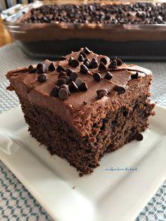 Chocolate Banana Cake | An Affair from the Heart