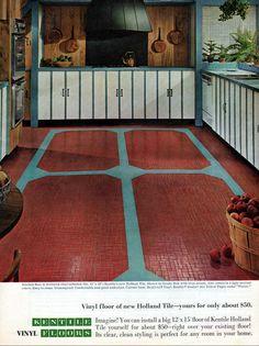 1960s Home Decor, New Holland, Vinyl Flooring, Kids Rugs, Texture, Room, Surface Finish, Bedroom, Vinyl Floor Covering