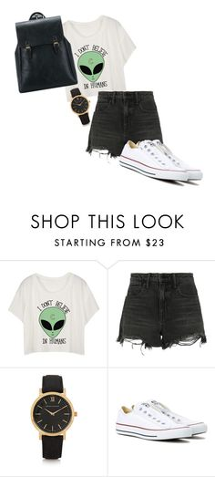 """""""Untitled #9"""" by chloxoxoxx on Polyvore featuring Alexander Wang, Larsson & Jennings and Converse"""